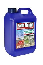 Patio Magic Green Mould And Algae Killer Liquid Concentrate Bottle 2.5 L New
