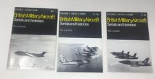 More details for 3 x british military aircraft serials and histories by paul jackson vol1, 2, & 3