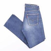 Vintage LEVI'S Slim Straight Fit Men's Blue Jeans W31 L29