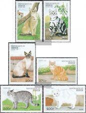 Benín 1056-1061 nuevo 1998 gatos