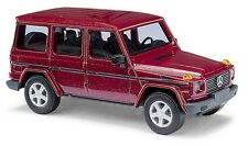 Busch H0, 51405 Mercedes-Benz G class 90 »CMD«, Red, Car model 1:87