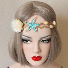 Mermaid starfish Flower Cosplay Hair Headband Princess Party Garland Jewelry Lei