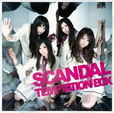 New SCANDAL TEMPTATION BOX CD Japan ESCL-3494 4988010024611 Free Shipping