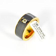 585 Gelbgold Ring 1 Diamant 0,35ct. Champ./Si Flandern Schliff Gr.62 UVP 3308€