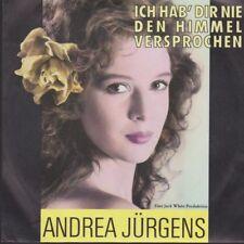 """Andrea Jürgens Ich hab`Dir nie den Himmel versprochen 1990 BMG White 7"""""""