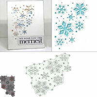 Scrapbooking Dies Craft Metal Card Stencil Paper Album Snowflakes DIY Cutting