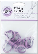 Wilton Icing Bag Ties 12 Count For Mess Free Decorating