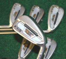 RH PING S57 Irons 5-PW Blue Dot Blade Set Extra Stiff Rifle Project X 6.5 Steel