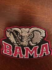 "Alabama Crimson Tide Vintage Embroidered Iron On Patch 3"" X 2"" Bama"