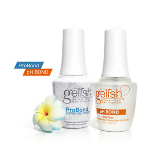 Harmony Gelish Prep Pack Ph Bond Dehydrator + ProBond Acid Free Nail Primer Duo