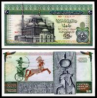 EGYPT 20 POUNDS 1976 P 48 XF++