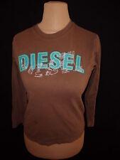 T-shirt manches longues Diesel Marron Taille M  à  -67%*
