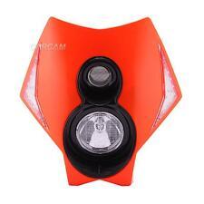 OR LED Headlight Fairing For KTM EXC MXC lc4 520 525 450 530 SX SMR Supermoto