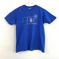 Vintage Breckenridge Ski Mens Blue Single Stitch T Shirt Hanes Beefy T Large USA
