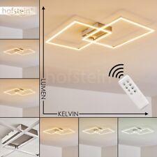 Plafonnier LED Lustre Lampe suspension Lampe de cuisine Lampe de séjour argentée