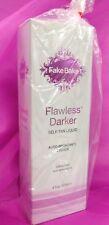 Fake Bake FLAWLESS DARKER Self Tan Liquid Spray w/ MITT Sunless Tanner EASY 6 oz