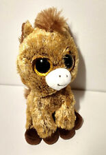 Gently Used Ty Plush Shades of Brown Very Cute HARRIET Donkey Stuffed Animal
