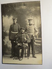 3 Soldaten in Uniform mit Säbel - Regiment 21 und 22 - Kulisse / Foto