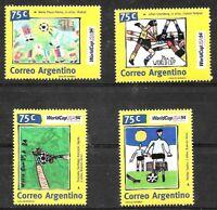 ARGENTINA,1994 FOOTBALL SOCCER WORLD CUP USA 94 SET YV 1845-8 MNH