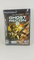 Tom Clancy Ghost Recon 2  PLAYSTATION 2 .. 2007 First Contact New.. Sealed