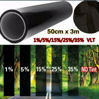 "Uncut Window Tint Roll 5% 20"" Office Home feet 10ft Film Auto Car"