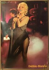 Original Vintage Poster 1979 Debbie Harry 70s Blondie Concert Photography Pin-up