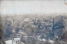 Antique RPPC Postcard 1907 Price Mansion Methodist Church Black River Falls WI