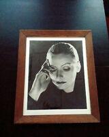 Rare Greta GARBO grande photo argentique Mata Hari Clarence Sinclair Bull 1931