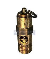"""140 Psi Brass Safety Pressure Relief Pop Off Valve, Air Tank, Compressor, 1/4"""""""