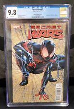 SECRET WARS #1 LEGACY EXCLUSIVE Edition Variant Spider-man 1st Print CGC 9.8 WP