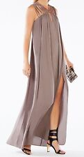 New with defect $298 BCBG Max Azria Audrii Multi-Strap Maxi B1057 Dress Sz M
