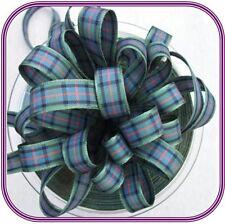 Berisfords 40mm Polyester Tartan Ribbon Choice of 16 Colours