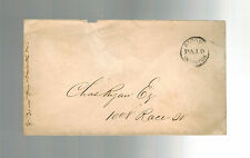 USA Bloody Despatch Stampless Prepaid Cover