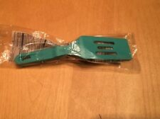 Pampered Chef Mini Nylon Teal Serving Spatula New Nip Dishwasher Safe Rare