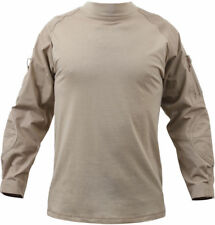 Tactical Combat Shirt Lightweight Military Uniform Heat Resistant Outdoor, XL