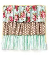 """Matilda Jane Siesta Pillow Sham Cover Ruffles Square 18x18"""" Pillowcase NWT"""