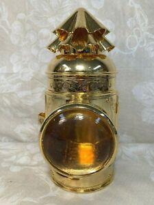 Vtg Franklin Mint 150th Anniversary Gold Miners Lantern 1994