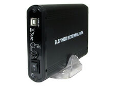 "3.5"" HDD Enclosure fits SATA 3½ inch PC Hard Drive USB 2.0 DATA Memory Caddy 806"