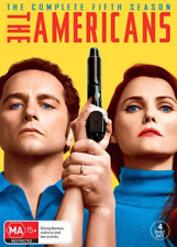 The Americans : Season 5 (DVD, 4-Disc Set) NEW
