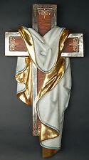 CROCE ANTICA RESURREZIONE- OLD CROSS RESURRECTION Legno H cm.60 Woodcarving