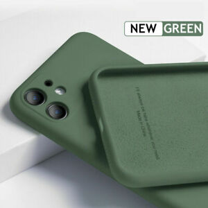 Liquid Silicone Case Cover For iPhone 12 Pro Max 12 Mini 11 XR XS X 8 7 Plus 6s