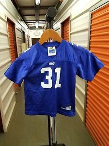 Vintage 90's NFL New York Giants Jason Sehorn ADIDAS Infant / Toddler Jersey 3T