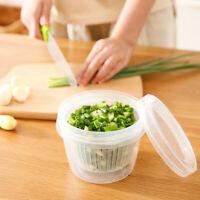Kitchen Refrigerator Storage Box Home Transparent Food Vegetables Storage Box
