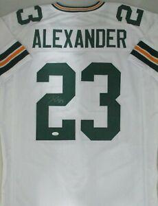 Packers JAIRE ALEXANDER Signed Custom Replica White Jersey  AUTO - JSA
