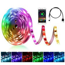 RGB LED Light Strip Powerful USB Bluetooth Control Lamp for TV Backlight Bedroom