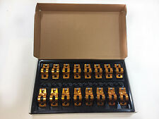 "BBC 396-454 Roller Rocker Arms Ultra Gold Aluminum 1.7 Ratio 7/16"" Stud Chevy"