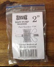 """Alvey Bait Pump Washer Kit 2"""""""