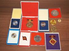 DDR Orden Medaille Stasi Dzierzynski, Münzen Abzeichen VEB, Parteiabzeichen SED