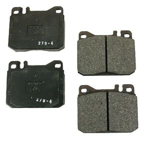 For Mercedes C126 R107 W116 W123 W126 Front Disc Brake Pad Set Ate 609029