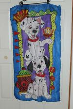 "Vintage 101 Dalmatians Child/Toddler Sleeping Bag, 53"" x 27"" Zipped/Closed"